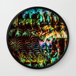 """Progression"" Wall Clock"
