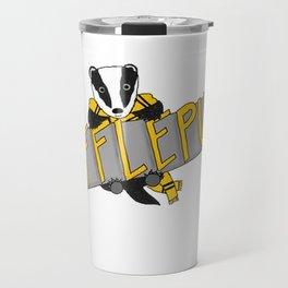 Hufflepuff Pride Travel Mug
