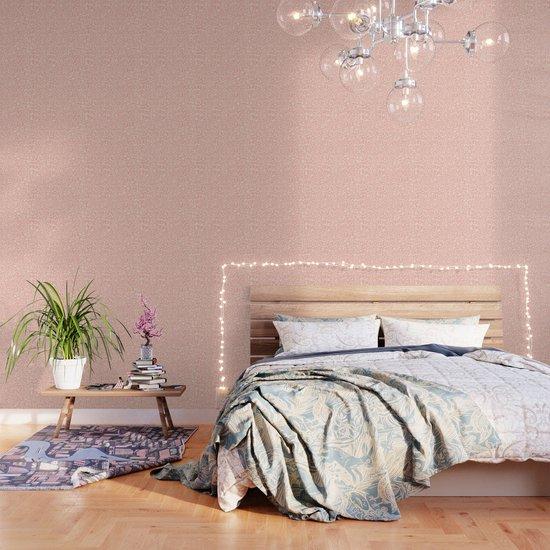 Leopard Print   Pastel Pink Girly Bedroom Cute   Cheetah texture pattern by koovox