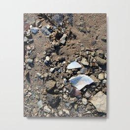 Broken Bits and Pieces Metal Print