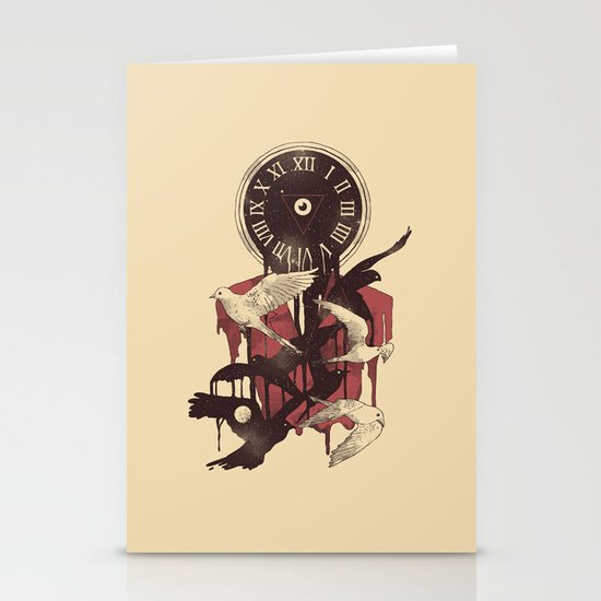 Existence in Time and Space Stationery Cards