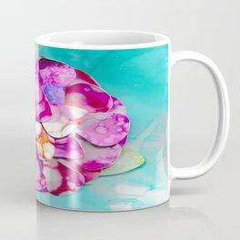 3D Guitar Pics in Bloom Coffee Mug