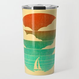 Go West (sail away in my boat) Travel Mug