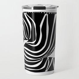 Zzzzing Zebra Travel Mug