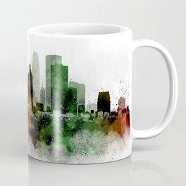 Minneapolis Watercolor Skyline Coffee Mug