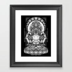 Sacred Ascetic Framed Art Print