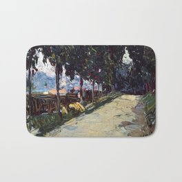 Park in St. Cloud, 1605, Old Masters Collection, Wassily Kandinsky Bath Mat