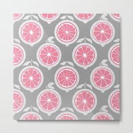 Pink Lemon Mod Metal Print
