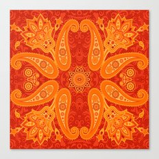 Ethnic ornament Canvas Print