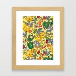 hot & spicy 2 Framed Art Print