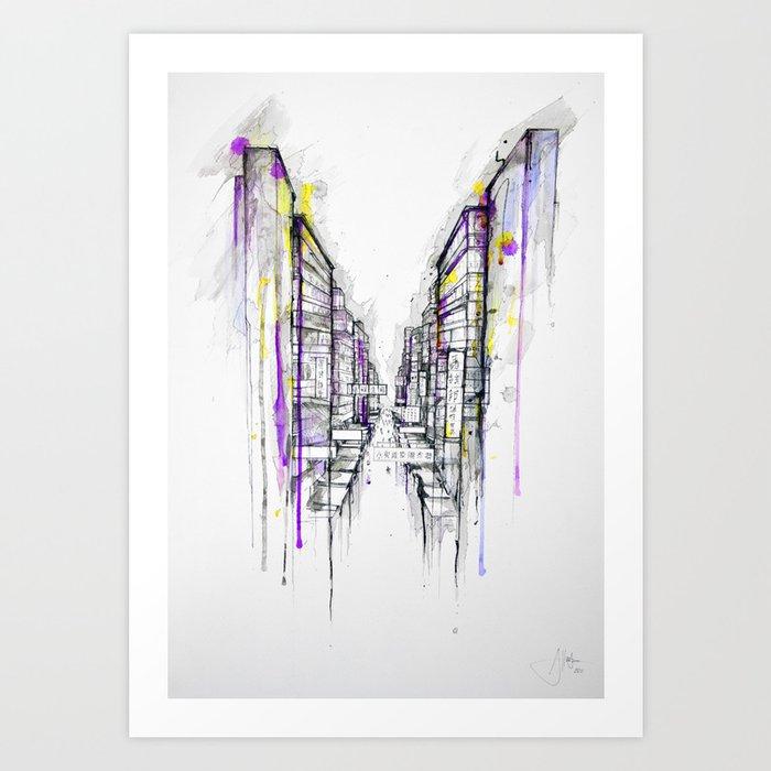 This City Sleeps Art Print
