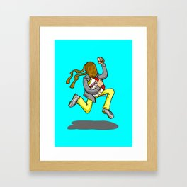 Run H.I. Run Framed Art Print