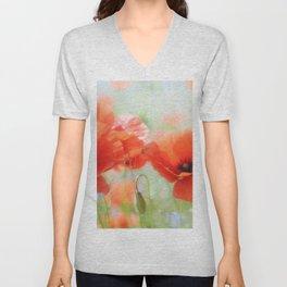 Cornflowers Unisex V-Neck