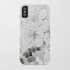 Cherry Blossom iPhone X Slim Case