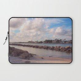 Winter Afternoon, Jupiter Inlet Lighthouse Laptop Sleeve
