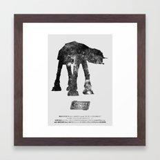 Star Wars - The Empire Strikes Back Framed Art Print
