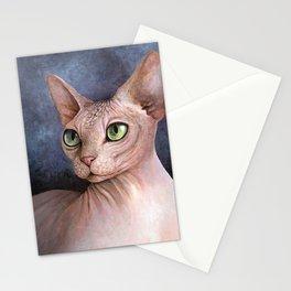 Cat 578 Sphynx Cat Stationery Cards
