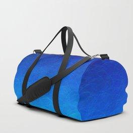 Cyan Circular Duffle Bag