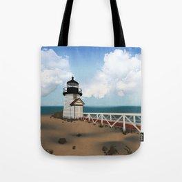 Brant Point Light Tote Bag