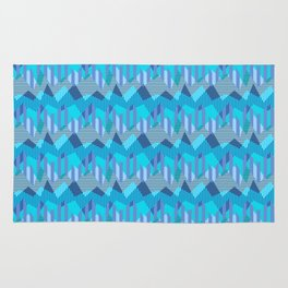 ZigZag All Day - Blue Rug