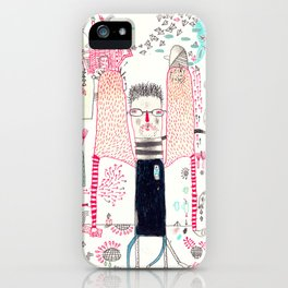 Cafe Stay in  iPhone Case