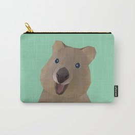 Quokka Polygon Art Carry-All Pouch