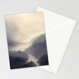 Mistscape Stationery Cards