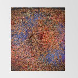 Untitled 2018, No. 3 Throw Blanket