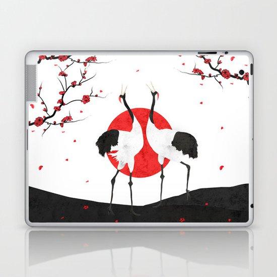 Love's Dance - Spring Version Laptop & iPad Skin