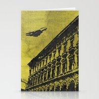 milan Stationery Cards featuring Milan 1 by Anand Brai