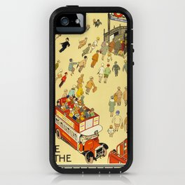 The Lure Of The Underground iPhone Case