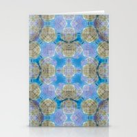 finland Stationery Cards featuring Finland Kaleidoscope by Lu Haddad