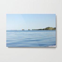 Island on the Horizon Photography Print Metal Print