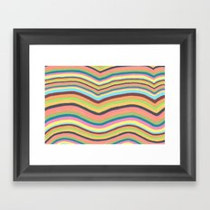 Joyful Burst Framed Art Print