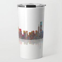 Chicago Skyline 1 BW1 Travel Mug