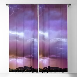 Discordant Scintillation Blackout Curtain