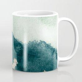 Emerald gold peaks Coffee Mug