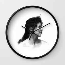 Beautiful Woman 2 Wall Clock