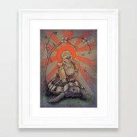 buddah Framed Art Prints featuring Buddah by BBarends