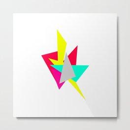 Colour Shards 01 Metal Print