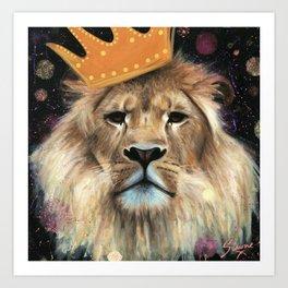 King of Dreams Art Print
