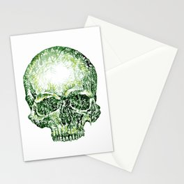 Tropical Skull ! Stationery Cards