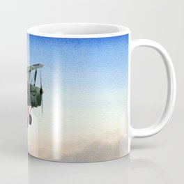 Tiger Moth Aircraft Coffee Mug