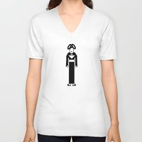bjork V-neck T-shirts featuring Bjork by Band Land
