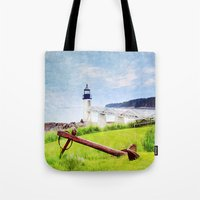 maine Tote Bags featuring Beautiful Maine by ThePhotoGuyDarren