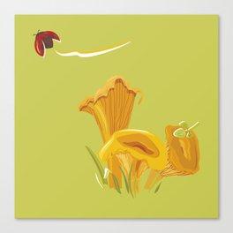 Chanterelles Canvas Print