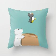 Nooooo Throw Pillow