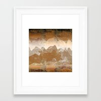 asian Framed Art Prints featuring Asian background by dominiquelandau