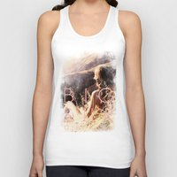 big sur Tank Tops featuring BIG SUR by TOO MANY GRAPHIX
