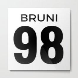 Bruni - 98 Metal Print